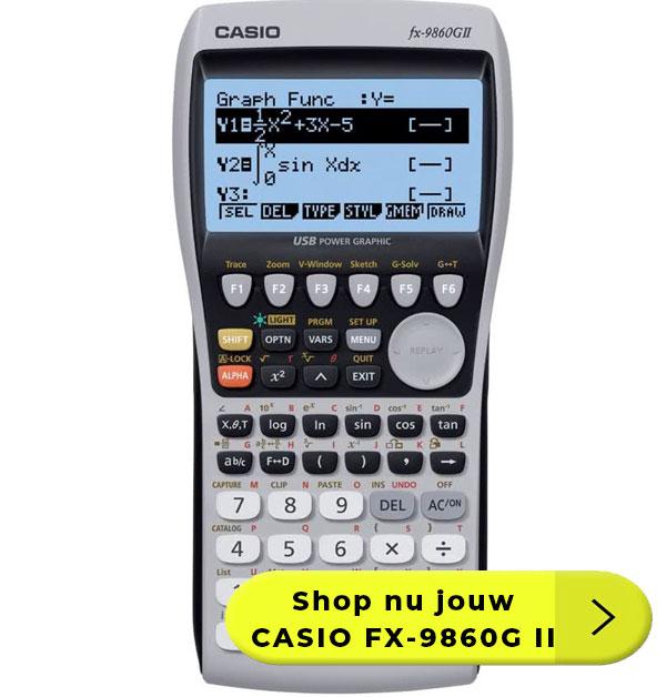 CASIO-FX-9860G-II