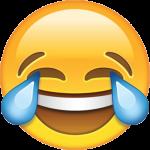 tranen van vreugde lachen emoji