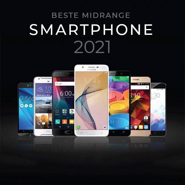 Beste Midrange Smartphone van 2021 voor minder dan € 500